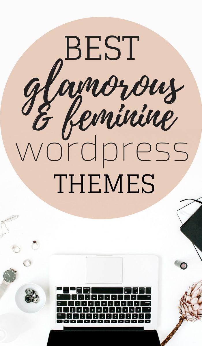 wordpress themes for blogger, feminine wordpress themes, glamorous wordpress themes, themes for female bloggers