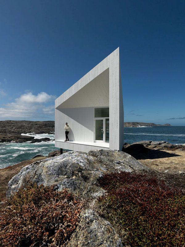 edgy!!Artists Studios, Newfoundland Canada, Beach House, Saunders Architecture, Squishstudio, Buildings, Fogo Islands, Squish Studios, Design