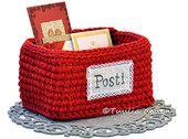 Postilaatikko -käsityöpaketti | Tuulia design. Iloa & Ideaa askarteluun ja käsitöihin!