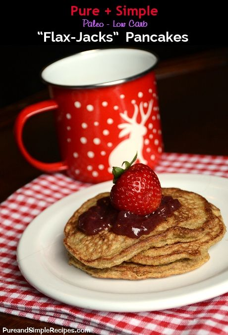 """TheseFlax Jacksremind me of the buckwheat pancakes I used to enjoy eating before Iwentgrain/starch free. To me, this versionisjust as filling,and they still have that """"whole grain"""" taste, ev..."""