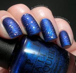 prettiest blue nails ever
