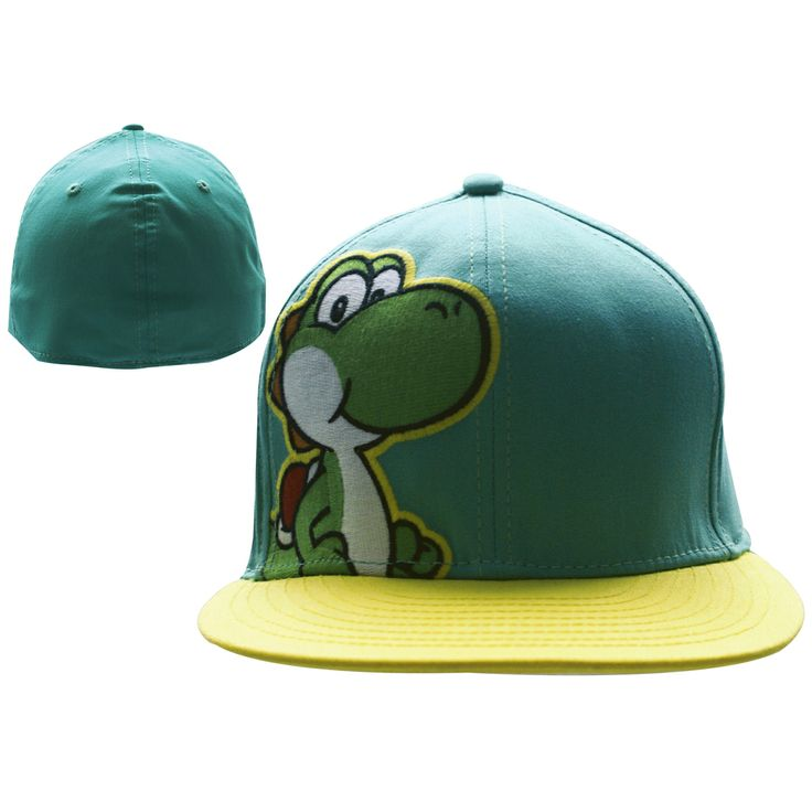 Keps Nintendo - #Yoshi (blå/gul) #keps #mössa #beanie #cap #clothes #fashion #swag #love #girl #girls #hat #snapback