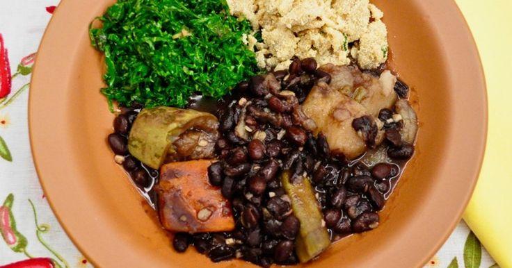 Receita de Feijoada vegana - EscolhaVeg.com.br