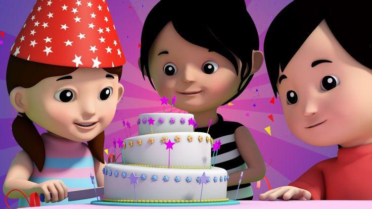 happy birthday song   birthday song   nursery rhymes   cake song   3d rh...