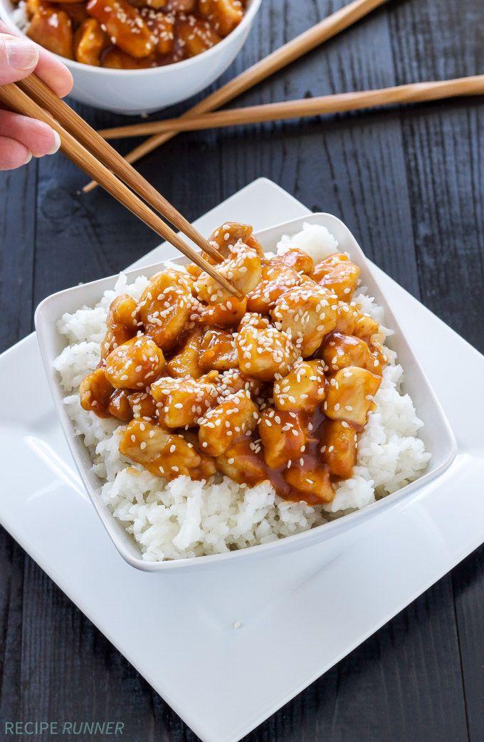 Honey Sriracha Sesame Chicken | Sweet and spicy chicken! So much ...