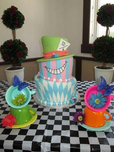 ~Alice in Wonderland Bridal Shower Crafts~ - OCCASIONS AND HOLIDAYS