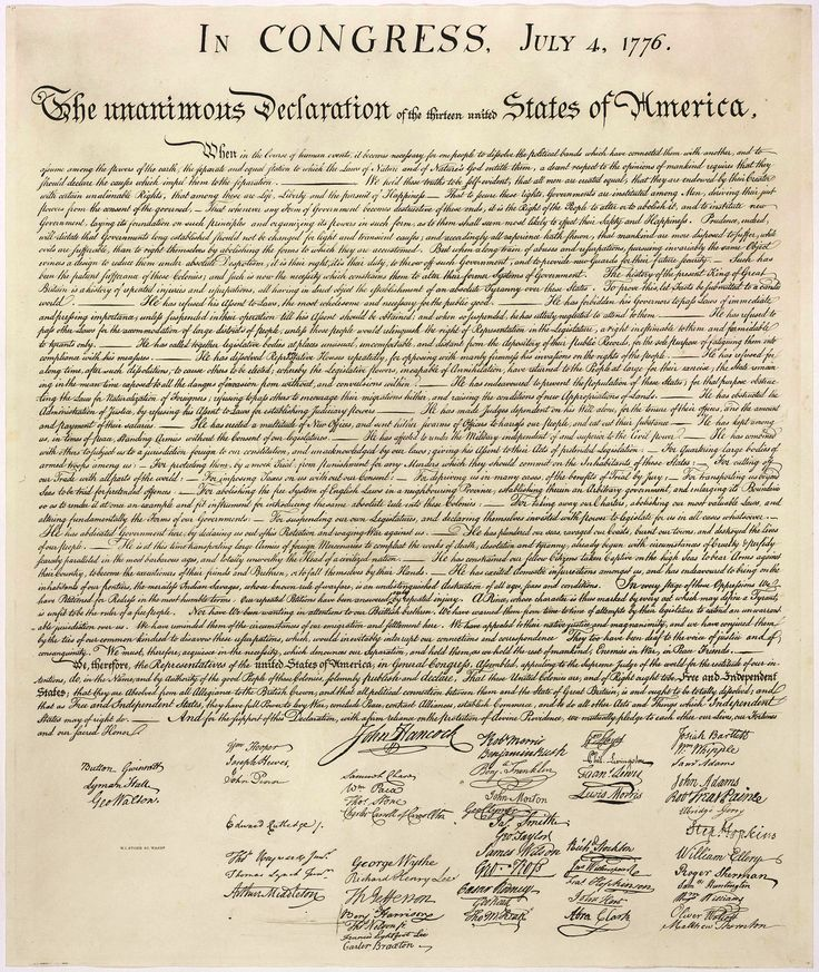 25+ best ideas about Declaration of independence signed on ...