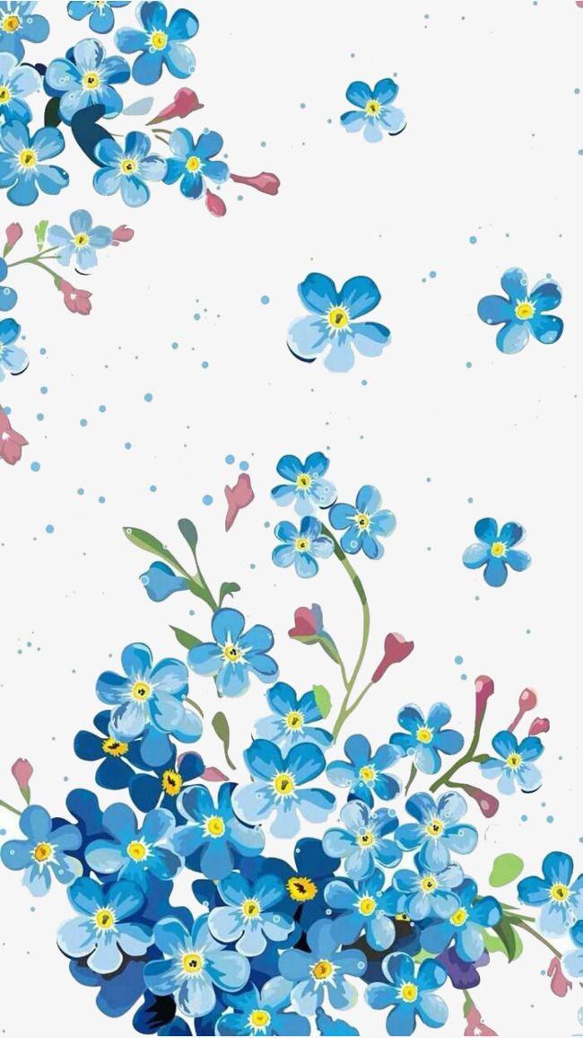أزرق مخطط متجهات ورق الجدران الديكور جدار ورق جدران Flowery Wallpaper Cherry Blossom Wall Art Fabric Painting Techniques