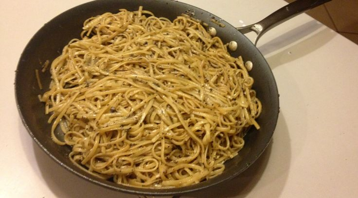 "By Lakshmi: Cacio e Pepe is a Roman dish that literally translates to ""cheese and pepper"".  What is not included in the translation is how the simple marriage of pasta, spaghetti and ch…"