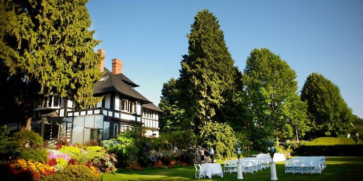 Quintessentially Vancouver: The West lawn of Brock House Vancouver. Wait till you see the oceanside setting!