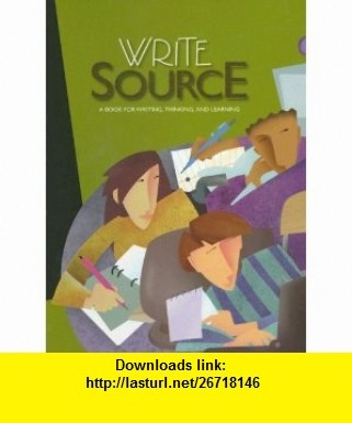 write source online Write source 2000 a guide to writing, thinking, & learning: a guide to writing, thinking & learning by patrick sebranek write source 2000 skills book: a handbook for writing and learning by dave kemper.