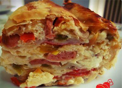 Η ΔΙΑΔΡΟΜΗ ®: Πολύχρωμη πίτα