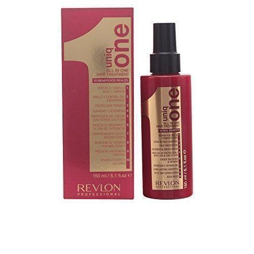 Oferta: 5.5€ Dto: -65%. Comprar Ofertas de Revlon Professional - Uniq One All in One - Tratamiento para cabello seco y dañado - 150 ml barato. ¡Mira las ofertas!