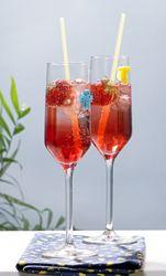 Roze bubbels zonder alcohol - Recept van Colruyt Culinair