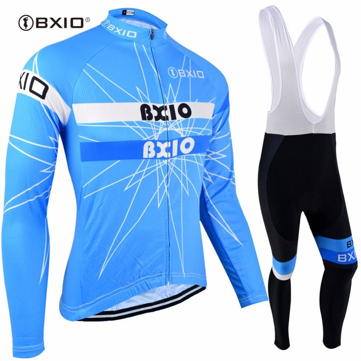 Bxio Winter Cycling Jersey MTB Bike Long Sleeve Ropa Ciclismo Thermal Fleece Pro Bicycle Clothing Cuissard Cycliste Equipe 113 #Affiliate