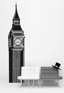 Sticker Big Ben London • VIL-019