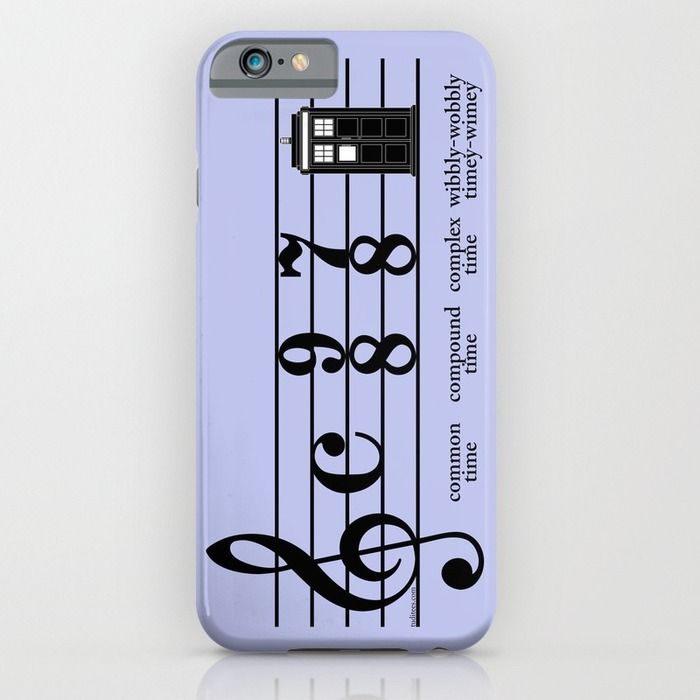 Wibbly-wobbly timey-wimey iPhone & iPod Case