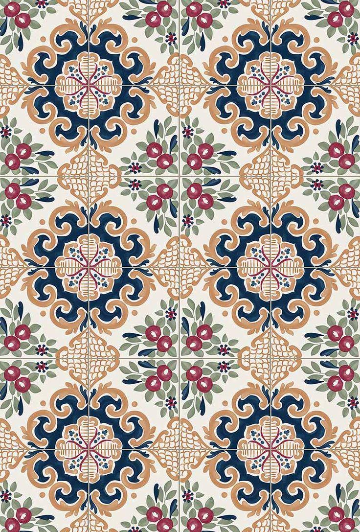 Italian tile inspiration from the Parco dei Principi hotel in Sorrento.