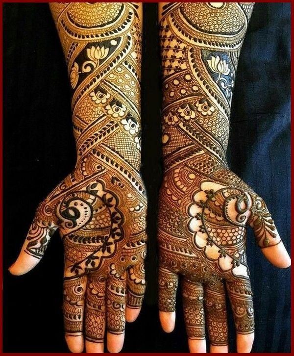 Latest Bridal Mehndi Designs Collection 2018 For Wedding Mehendi