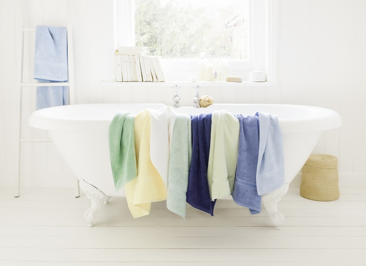amazingly soft COSHMERE bath towels from Schlossberg