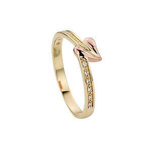 Clogau 9ct Gold Love Vine Ring