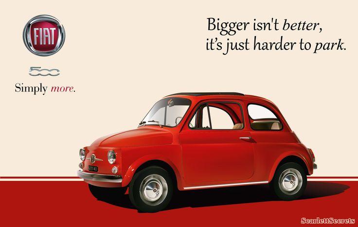 Fiat500 Advertisement by Scarlett-Secrets on DeviantArt