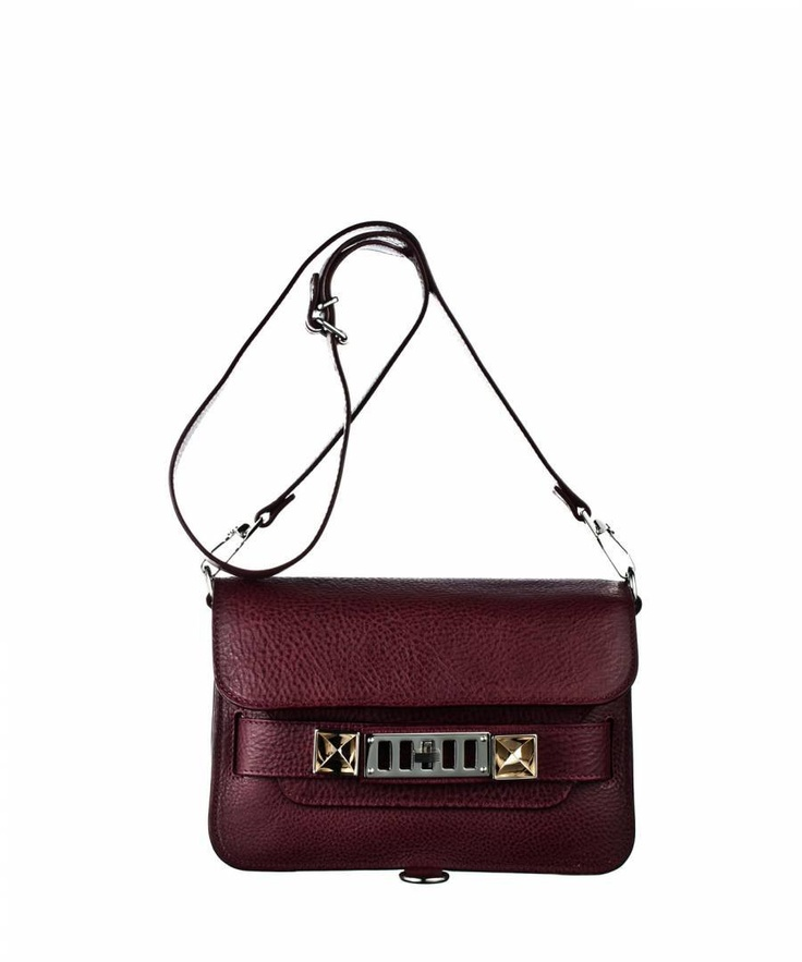 Proenza Schouler Mini Classic in Burgundy