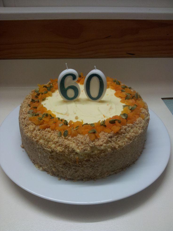 60th Carrot Cake