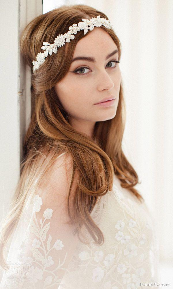 jannie baltzer 2016 bridal accessories freja flexible vine headpiece bohemian hair accessory