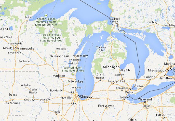 Camping in Michigan   Free Campsites