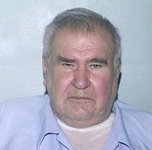 William Heirens    Mug shot of William Heirens (2004)  Background information  Birth nameWilliam George Heirens  Also known asThe Lipstick Killer  BornNovember 15, 1928  Evanston, Illinois[1]  DiedMarch 5, 2012 (aged83)  Chicago, Illinois  SentenceLife sentence with the possibility of parole.  Killings  Number of victims3  CountryU.S.  State(s)Illinois  Date apprehendedJune 26, 1946