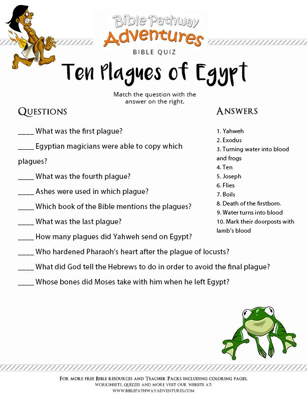 32 best Bible Lesson-Escape From Egypt images on Pinterest | Free ...
