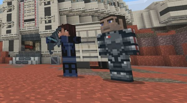 Minecraft And Mass Effect Are Finally Getting Married On PlayStation Consoles
