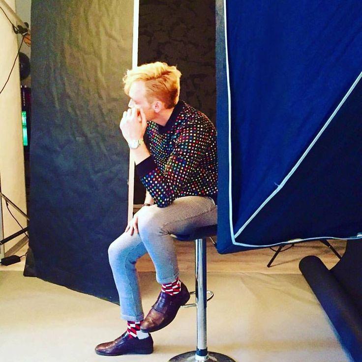 Backstage shooting #FuoriPosto, curato da Floriana Manciagli  modello Davide Scalenghe fotografo Alessandro Altavilla. Davide veste la ns felpa MARQUIS AN'DOGE!  #shooting #davidescalenghe #sweatshirt #pois #job #work #model #pics #top #social #backstage #picture #instagood #instadaily #instamood #like4like #followme #tags #picstitch #photography #photooftheday
