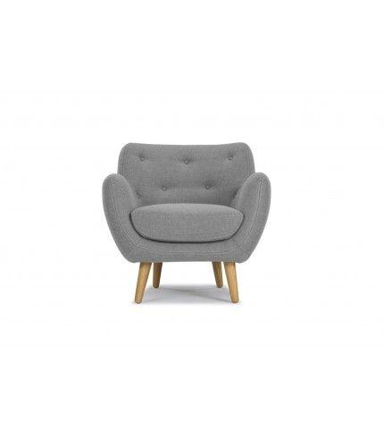 Herman, Chair, Andie light grey