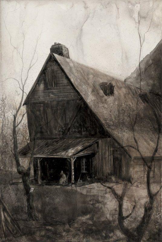 The Dunwich Horror (H.P. Lovecraft) - S a n t i a g o C A R U S O - Artist & Illustrator