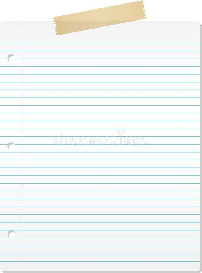 Lined Paper Background 2018