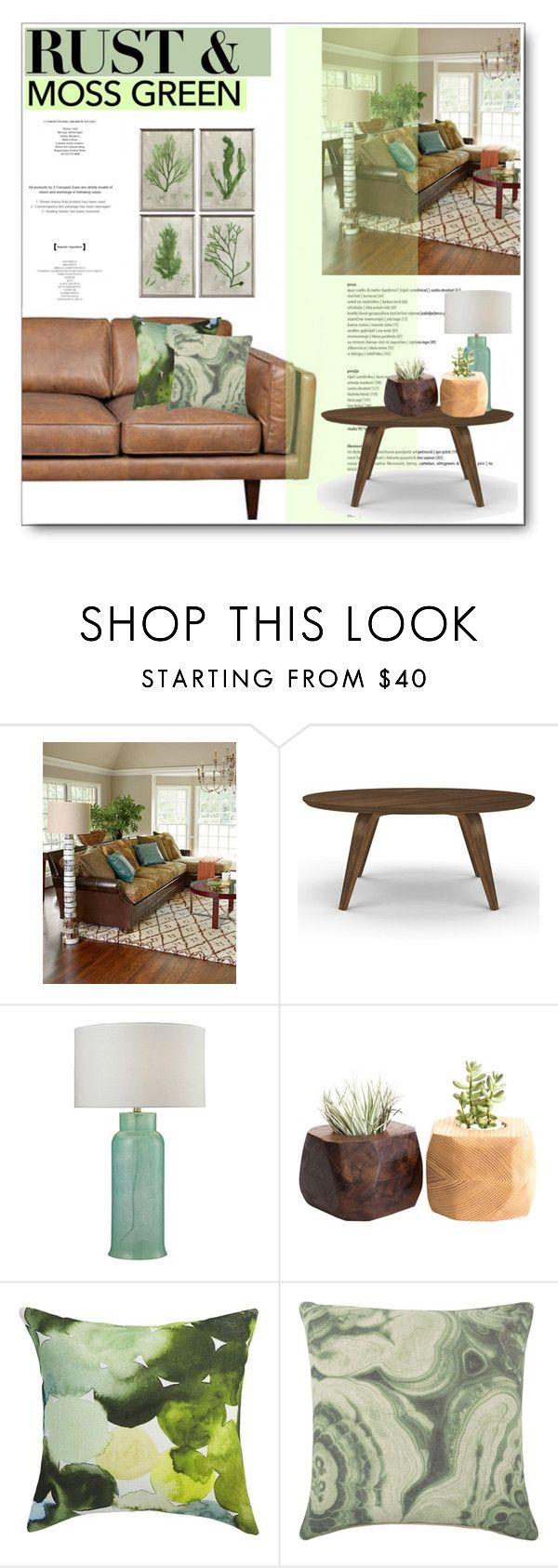Rust by hevsyblue2 ❤ liked on polyvore featuring interior interiors