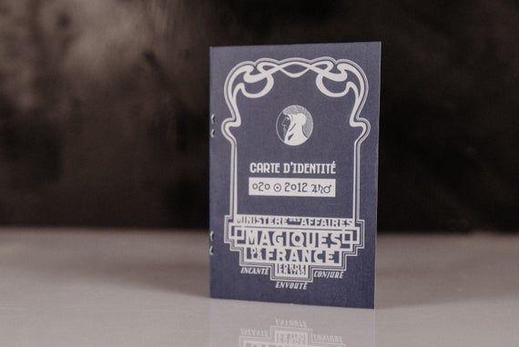Carte D Identite Du Ministere De La Magie Francaise En 2020