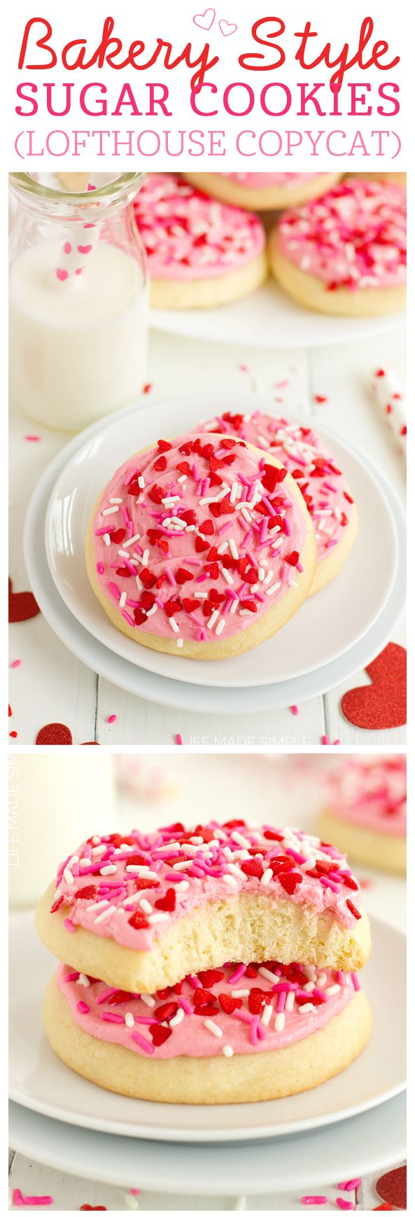 Bakery Style Sugar Cookies (Lofthouse Copycat) | Life Made Simple