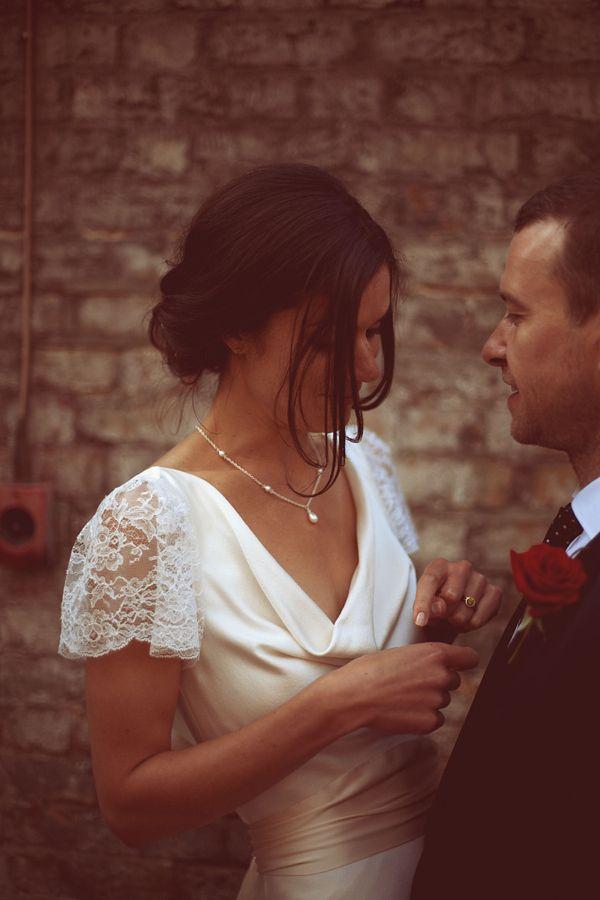 A Vintage Inspired Wedding Dress by Charlie Brear. Photography by karolinapaczkowska.com