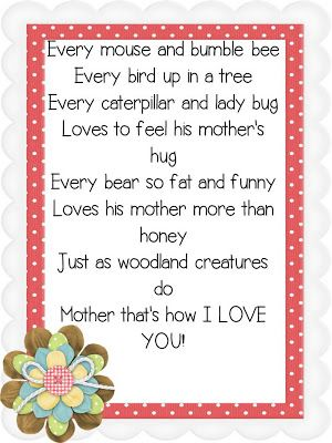 25+ best ideas about Mothers day poems on Pinterest | Poem on ...
