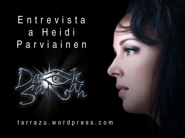 Entrevista a Heidi Parviainen de DARK SARAH