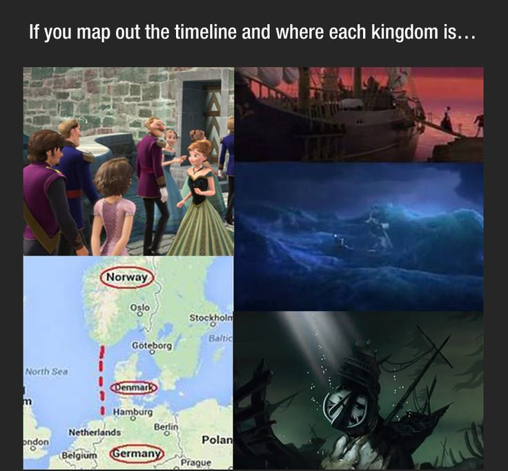 An insane theory that would put Frozen, Tangled, and the Little Mermaid in the same Universe.