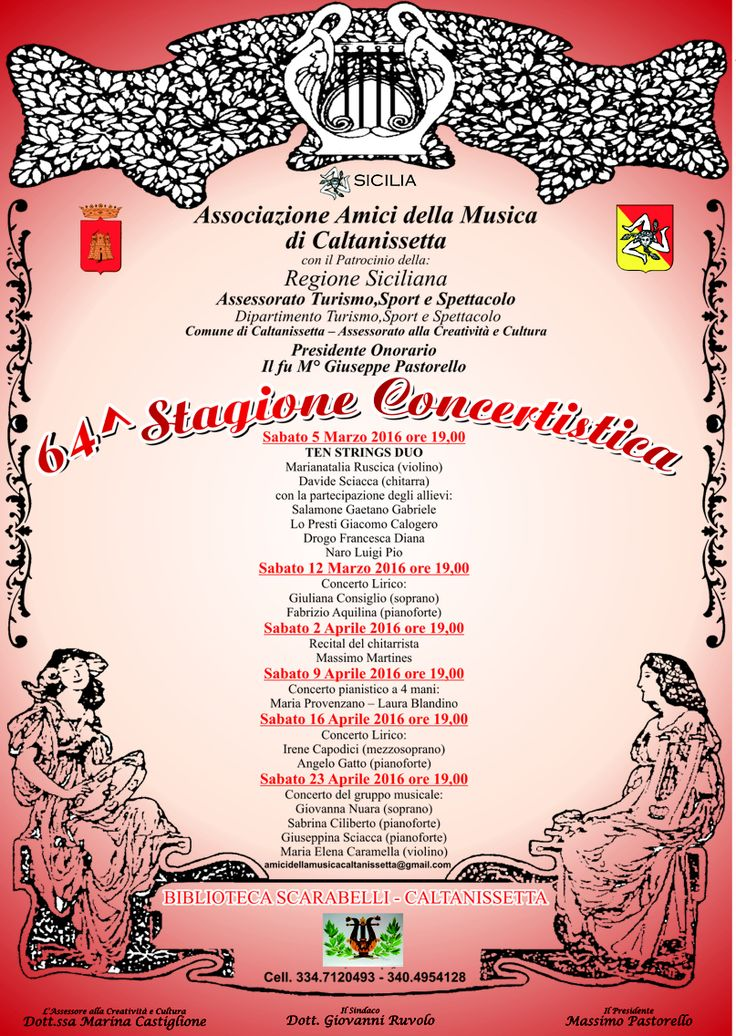 Stagione concertistica associazione amici della musica #caltanissetta