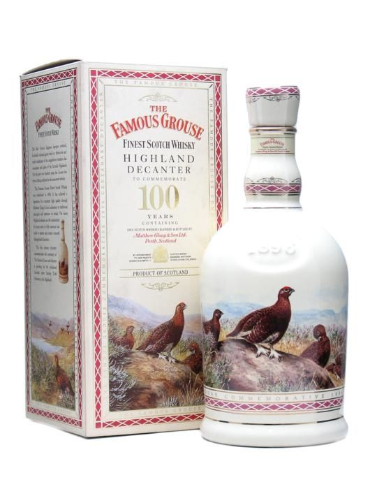 Famous Grouse / Highland Decanter 100 Years