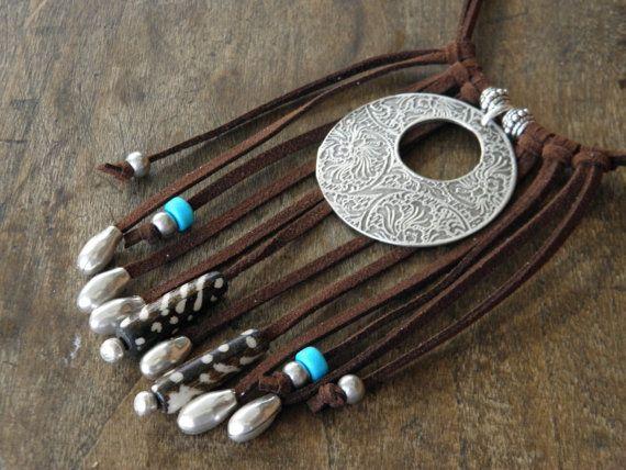 Collar gypset corto Bahia Del Sol joyas boho por bahiadelsol