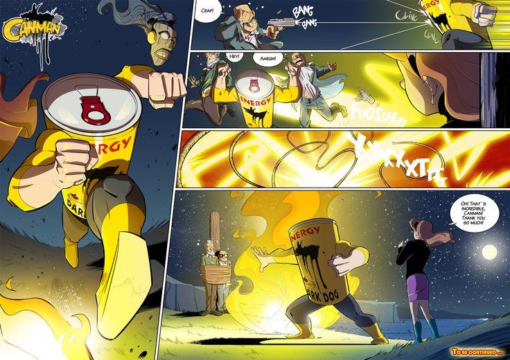 Season2 - Issue21 #canman #webcomic by #DARKDOG