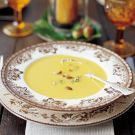 Try the Cream of Butternut Squash and Apple Soup Recipe on williams-sonoma.com  ( will omit cream and use homemade yogurt)