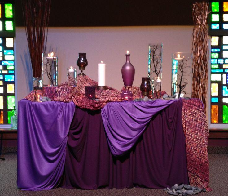 Simple Church Altar Decorations: 606 Best Church Paraments Images On Pinterest